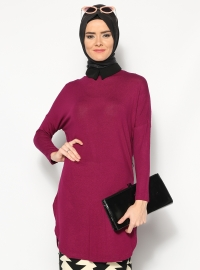 Basic Tunik- Menekşe - Modesty