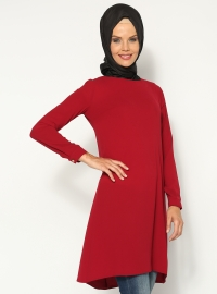 Basic Tunik- Bordo -Topless